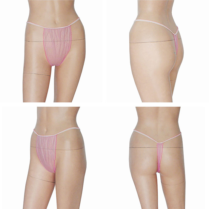 Women disposable paper thongs