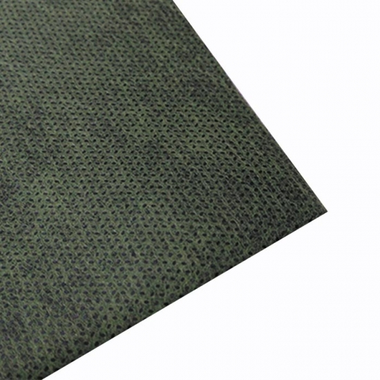 Black weed control fabric
